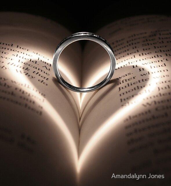 Love Cast Upon Words by Amandalynn Jones