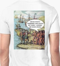 Columbus Arrives in the Americas - Anti Trump T-Shirt
