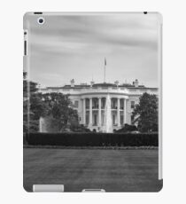 Black and white The White House iPad Case/Skin