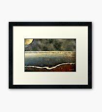 Carolina Moon Framed Print