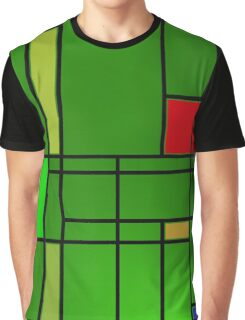 Composition over cool green Graphic T-Shirt