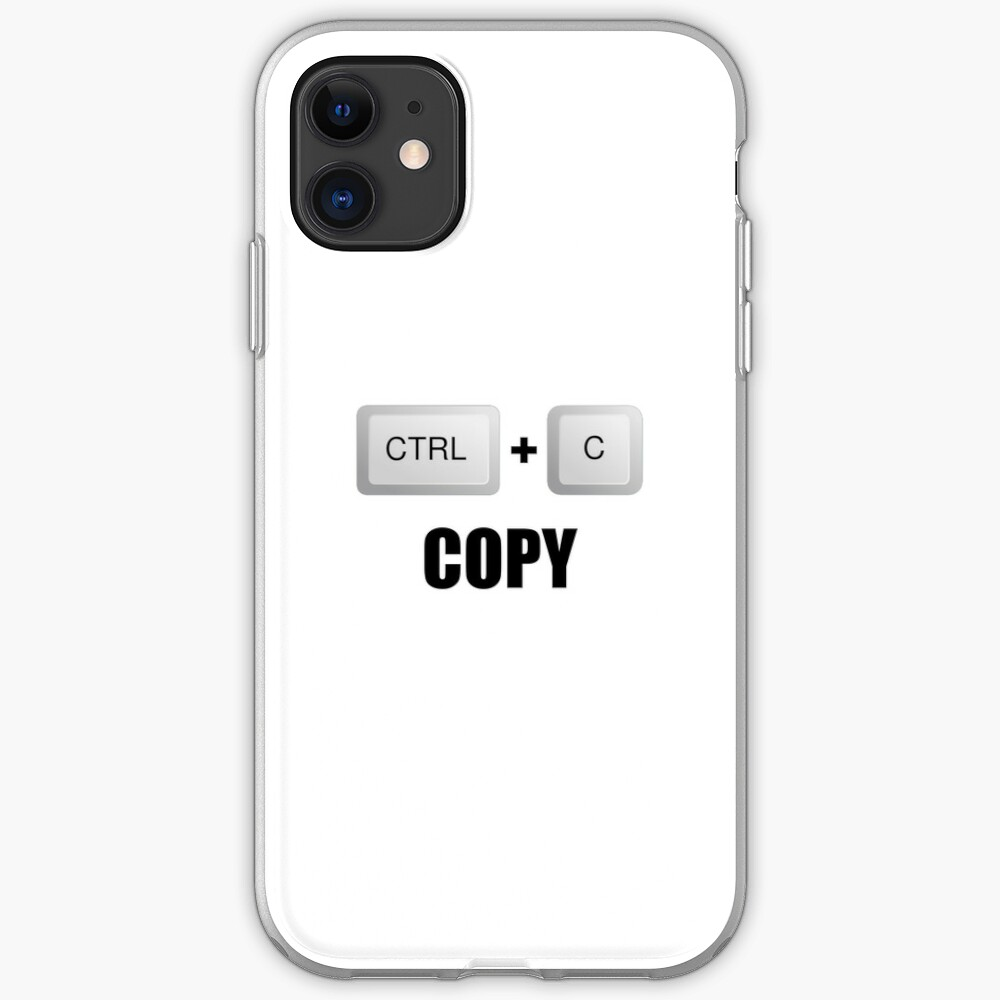 "Copy Twins"" iPhone Case & Cover by TheBestStore 