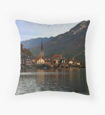 Hallstatt Austria Throw Pillow