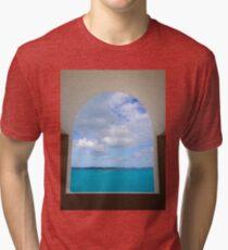 Arch to Paradise in Bermuda Tri-blend T-Shirt