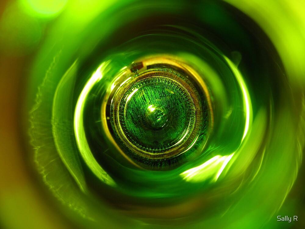 Green Eye by Sally R