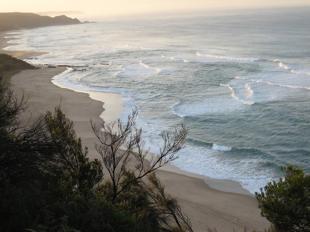 Johanna Beach early morning by deborah