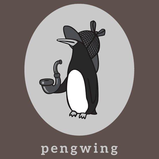 TShirtGifter presents: Pengwing | Unisex T-Shirt