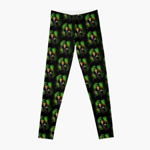 Leprechaun Four Leaf Clover  Leggings