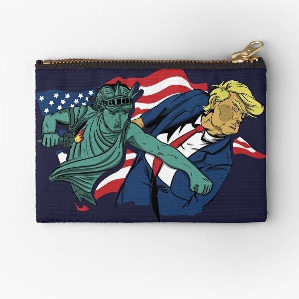Nasty Woman vs Trump Zipper Pouch