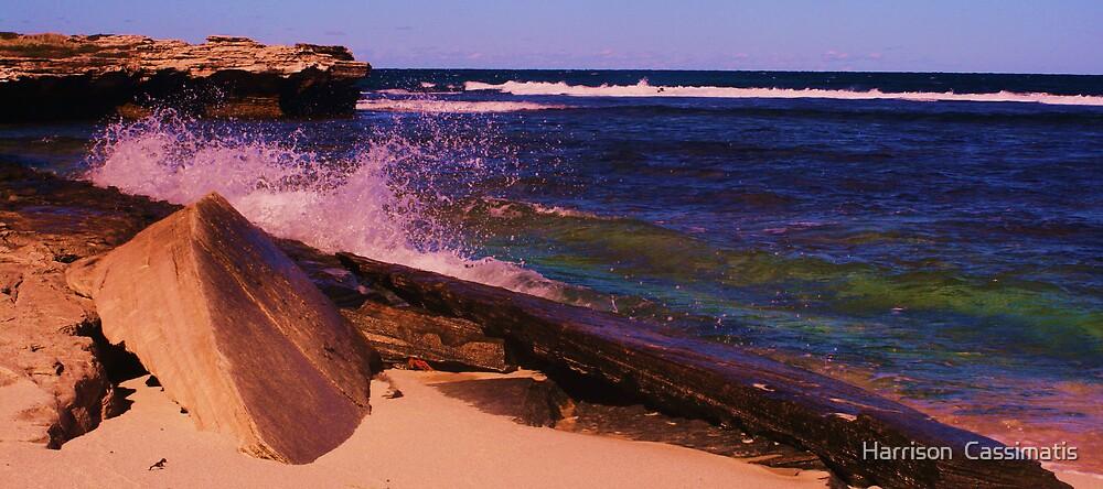 Strickland Bay, Rottnest Island by Harrison  Cassimatis