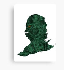 Creature Lagoon Canvas Print
