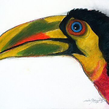 tropical bird by anarte