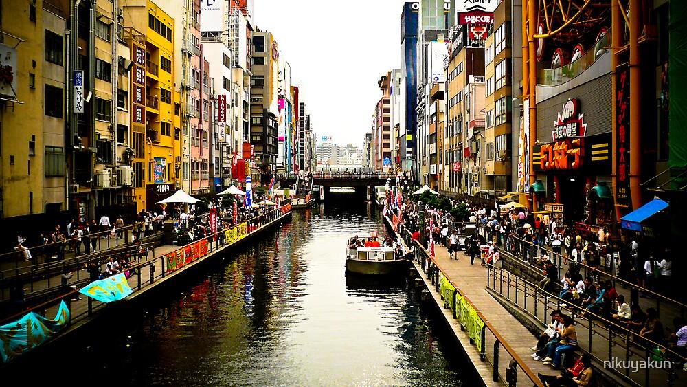 Dotombori, Osaka. by nikuyakun