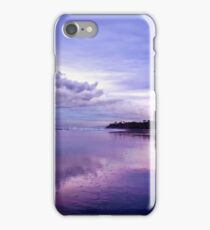 Low Tide, Cloudy Sunset iPhone Case/Skin