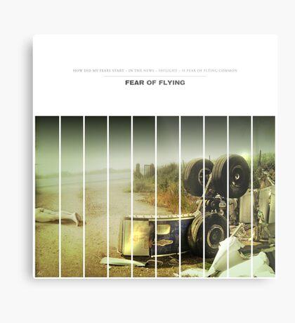 Fear Of Flying Metal Print