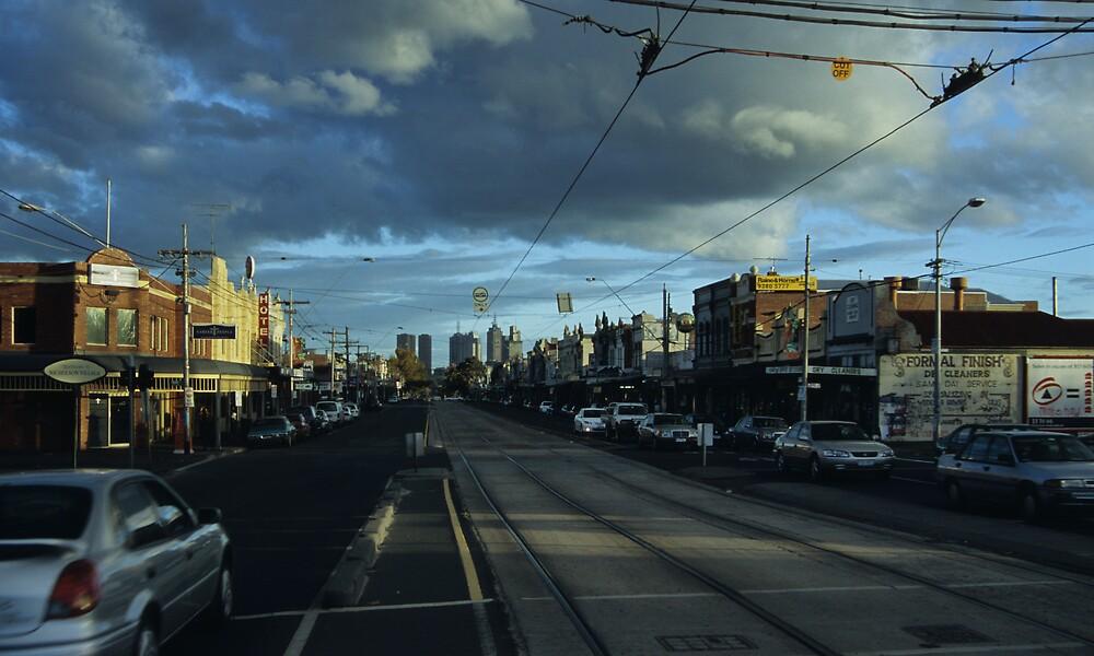 Nicholson Street by daveoh