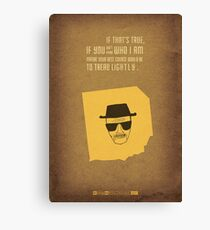 Breaking Bad - Blood Money Canvas Print