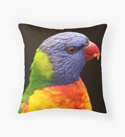 Inquisitive Throw Pillow