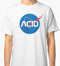 Acid vs Nasa Classic T-Shirt