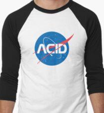 Camiseta ¾ estilo béisbol Ácido vs Nasa