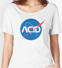 Acid vs Nasa Women's Relaxed Fit T-Shirt