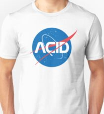 Acid vs Nasa Unisex T-Shirt