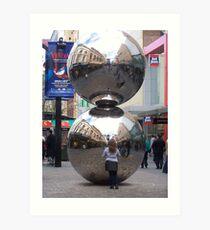 Malls Balls Art Print