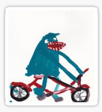 Tony Horseradish - BIKE Sticker