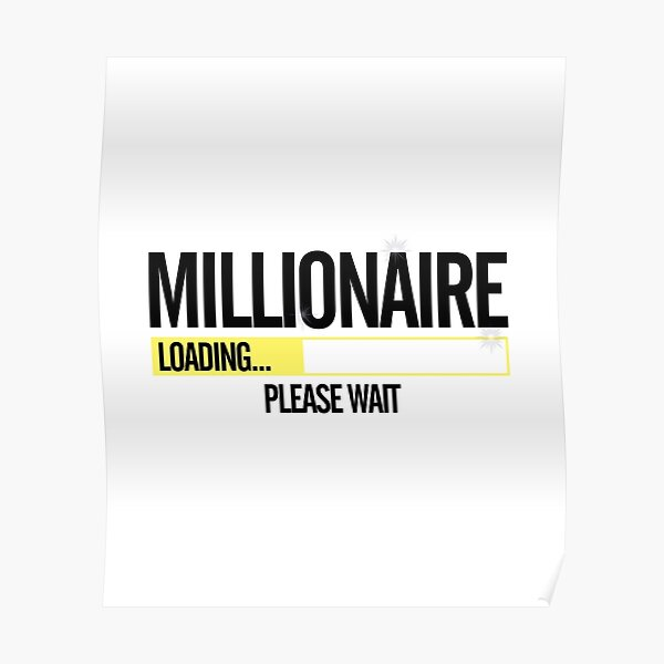 Millionaire Loading Please Wait  Poster