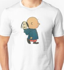 Charlie Brown and Snoopy Unisex T-Shirt