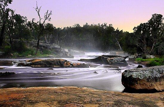 Noble Falls At Dawn by EOS20