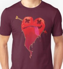 A Love Struck Heart Unisex T-Shirt