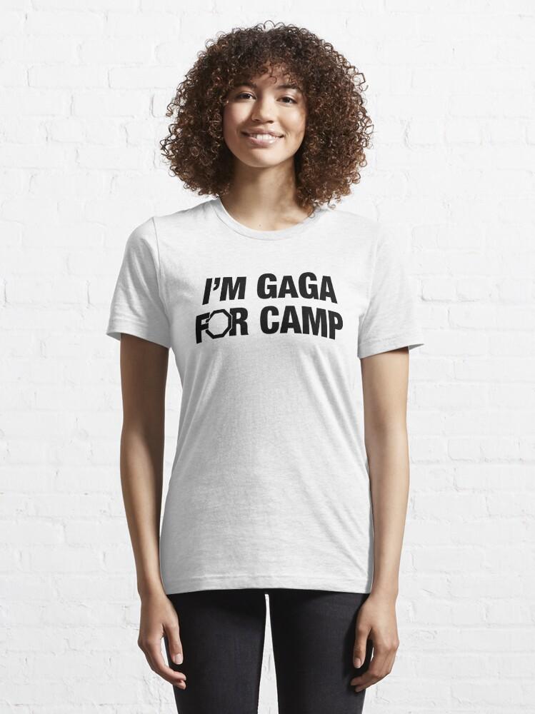Alternate view of Im GaGa for Camp Essential T-Shirt