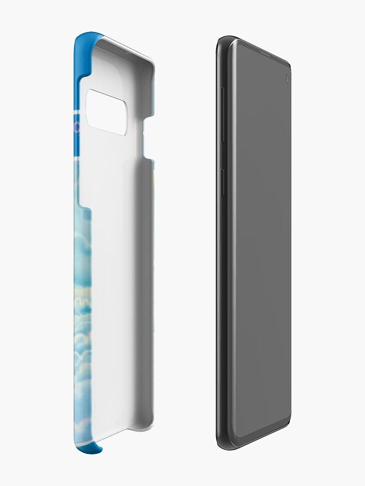 Alternative Ansicht von ROCKIN & amp; # 39; DER TRAPPER-KÄFER Hülle & Klebefolie für Samsung Galaxy