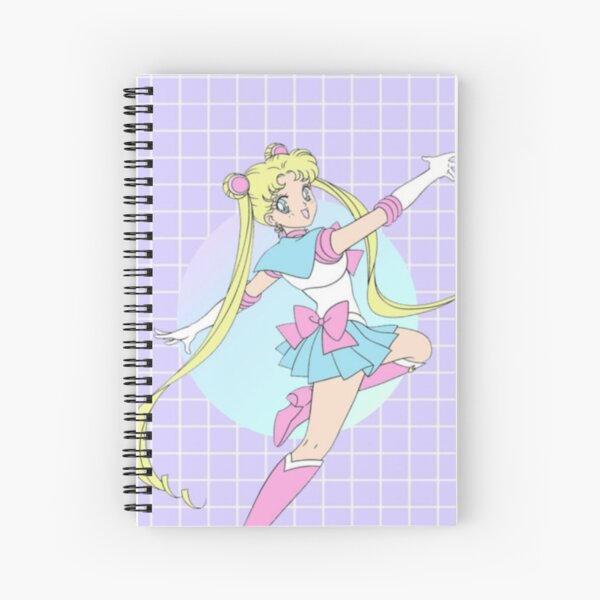 Sailor Moon Aesthetic  Spiral Notebook