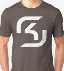 SK csgo white Unisex T-Shirt