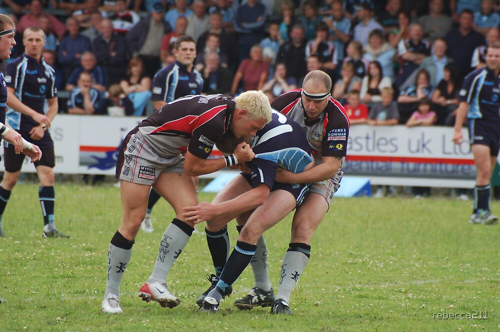 Rugby Match by rebecca211