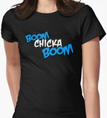 Boom Chicka Boom Women's Fitted T-Shirt