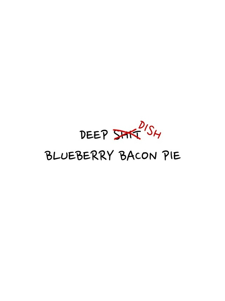 Deep Dish Blueberry Bacon by roxiefart