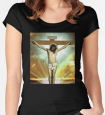 Skam - Isak, Even or Eskild Jesus T-Shirt Women's Fitted Scoop T-Shirt