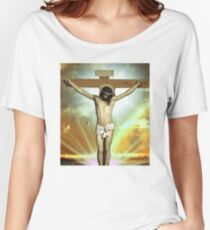 Skam - Isak, Even or Eskild Jesus T-Shirt Women's Relaxed Fit T-Shirt