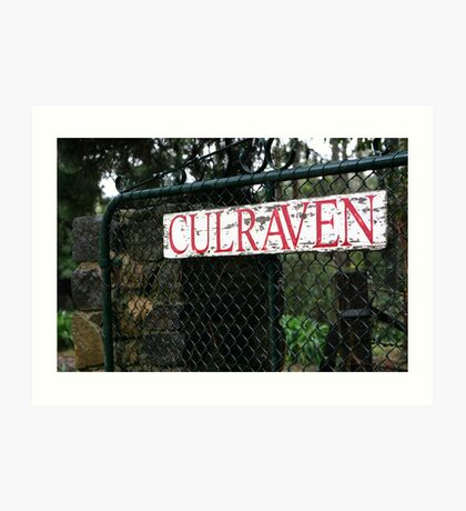 Culraven Art Print