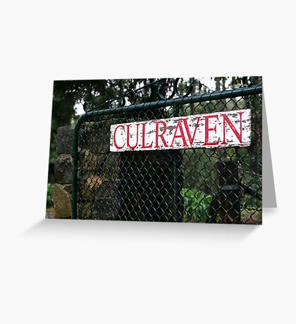 Culraven Greeting Card