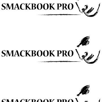 Smackbook Stiker by willarts