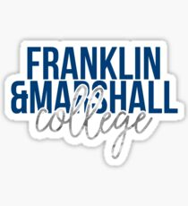 Franklin & Marshall College - Style 13 Sticker