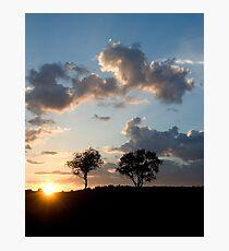 Muskoka Sunset Photographic Print
