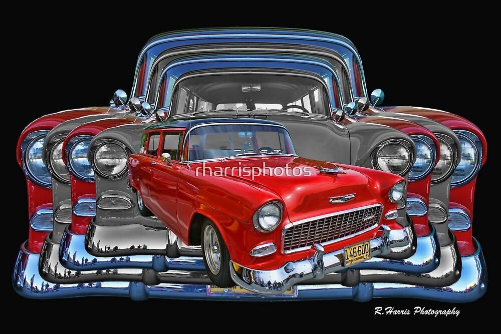 Multiple Chevy 2 Door Abstract by rharrisphotos