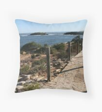 Path from Little Congwong to Congwong Beach  Throw Pillow
