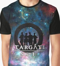 Stargate Galaxy Graphic T-Shirt