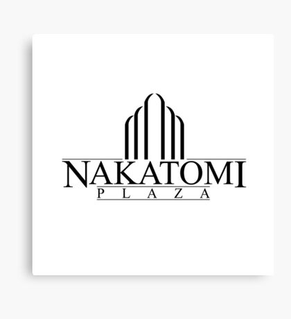Nakatomi Plaza - Die Hard Canvas Print